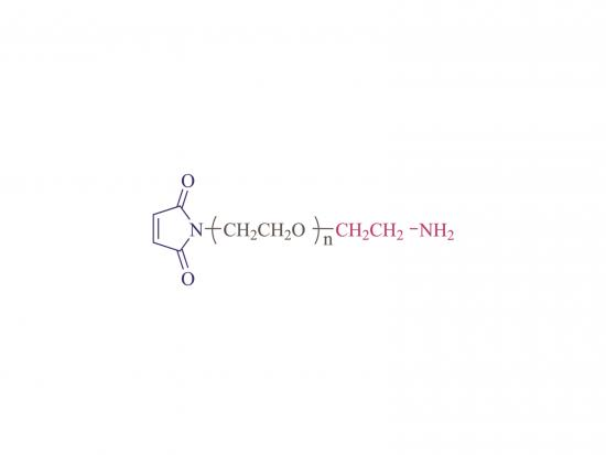 α-Maleimidyl-ω-amino Poly (ethylen glykol) [MAL-PEG-NH2]